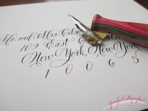modernscript calligraphy jennifercalligrapher
