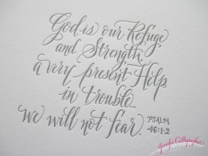 scripture in calligraphy jennifercalligrapher