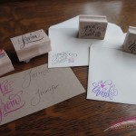 custom rubber stamps calligraphy jennifercalligrapher