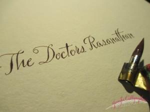 jennifercalligrapher wedding calligraphy