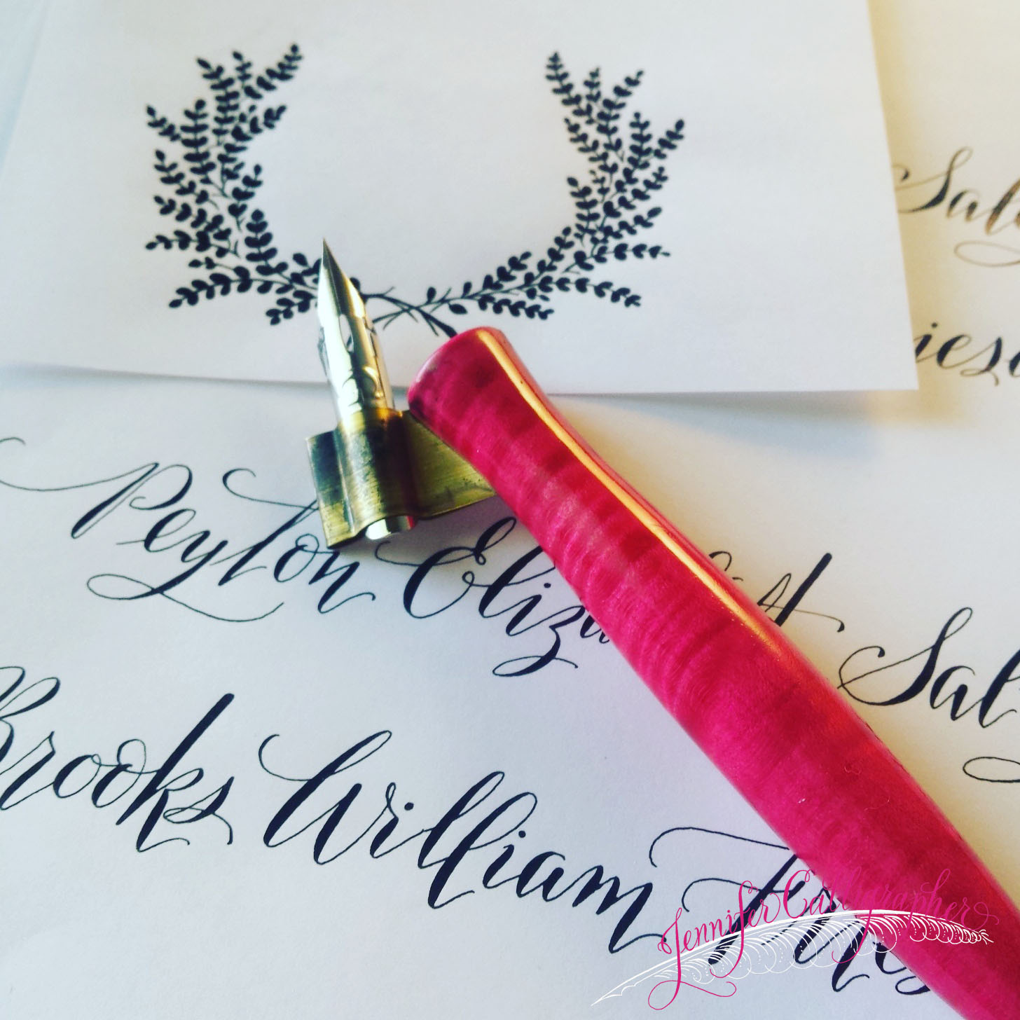 Lovely Letters | Jennifer Calligrapher